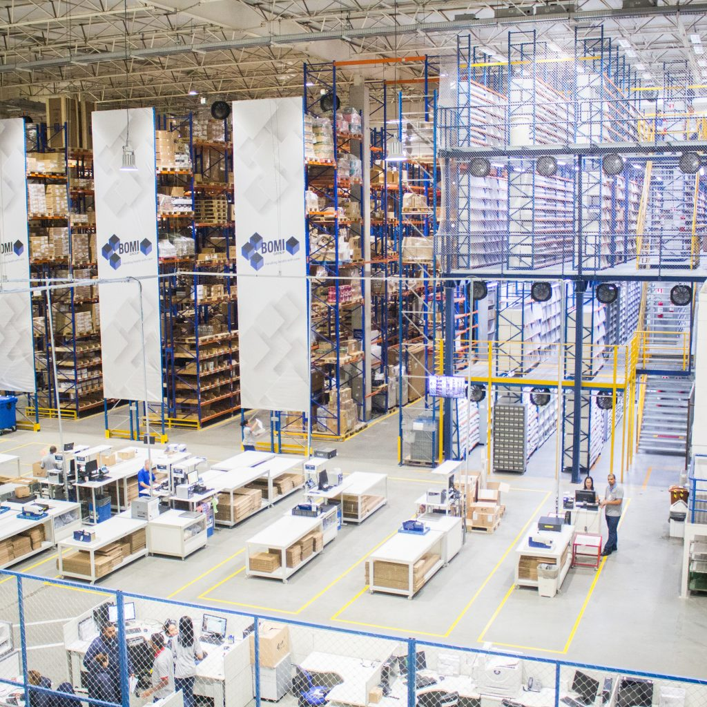 e-commerce warehouse needs are growing.